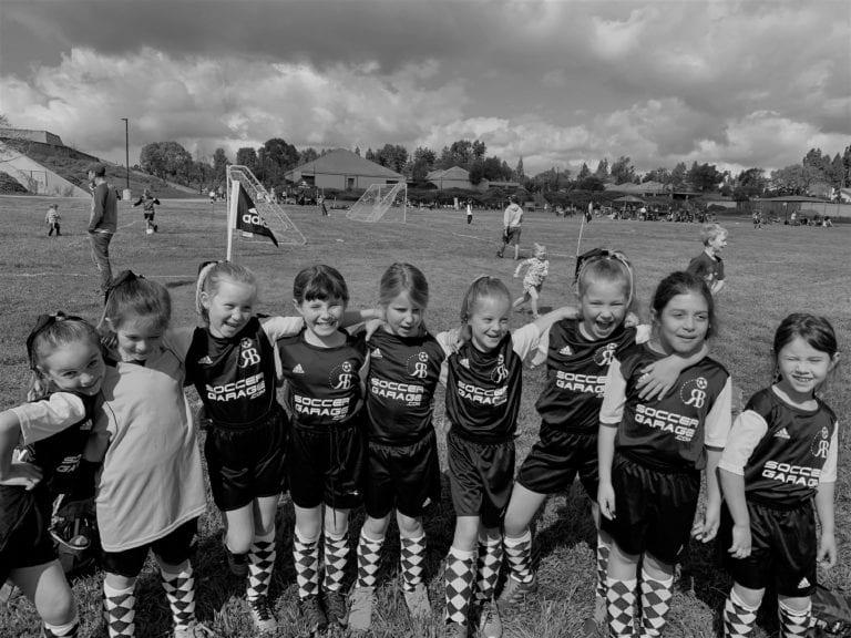 Erica Tanner Soccer Team