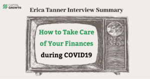 how to take care of your finances during COVID19