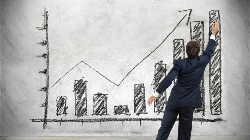 Capital Growth Stock Market Financial Growth